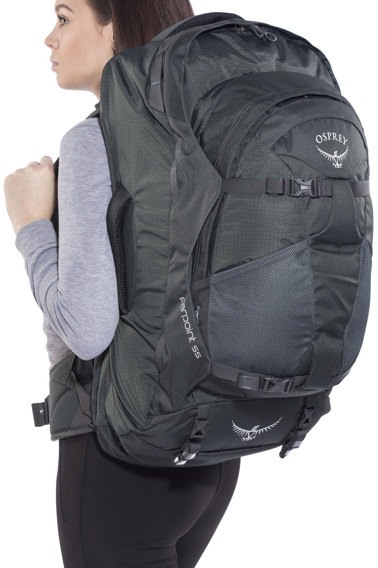 Osprey Farpoint 55 Travel Luggage S/M grey
